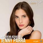 Jenny Parra es Jenny Humphrey (Reprodução)