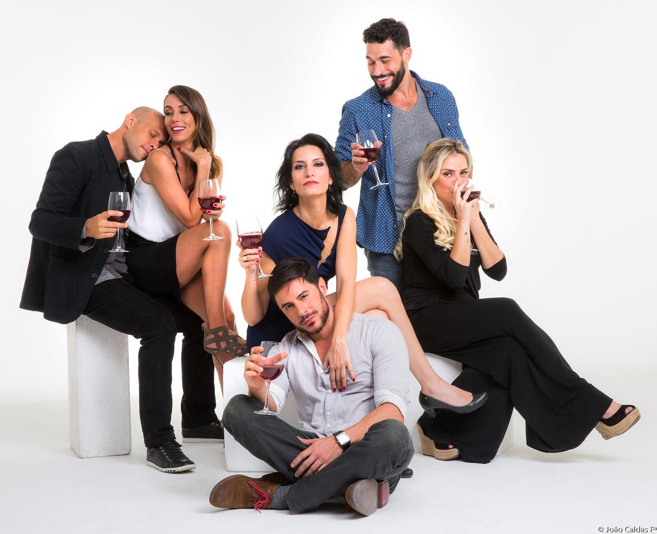 """O elenco de """"Jogo Aberto"""": comédia fez sucesso nos Estados Unidos (Foto: João Caldas)"""
