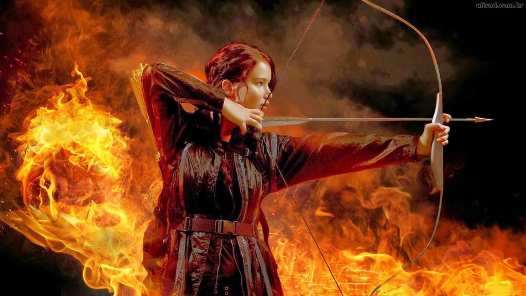 Jennifer Lawrence é a heroína de Jogos Vorazes