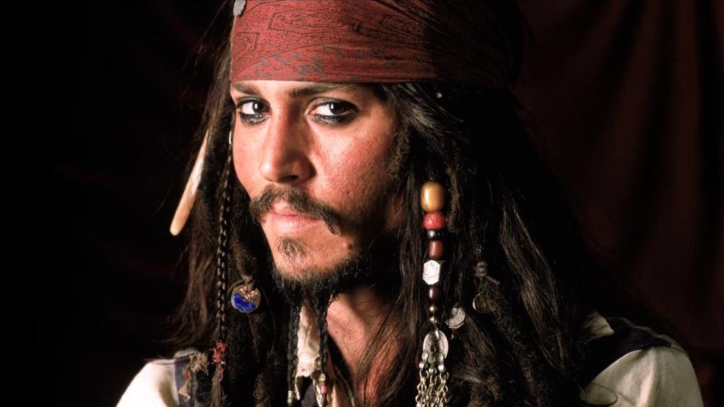 Johnny Depp em Piratas do Caribe: primeira indicação, em 2004