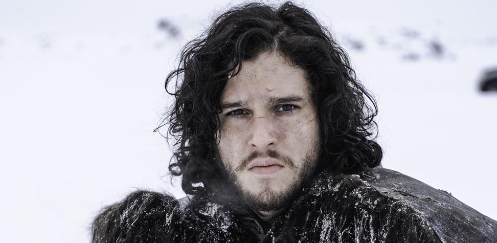 O ator caracterizado como Jon Snow, da série Game of Thrones (Foto: Divulgação)