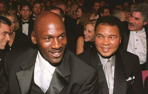 Michael Jordan e Muhammad Ali