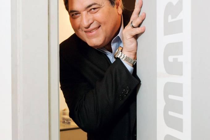 José Luiz Datena, apresentador de TV.