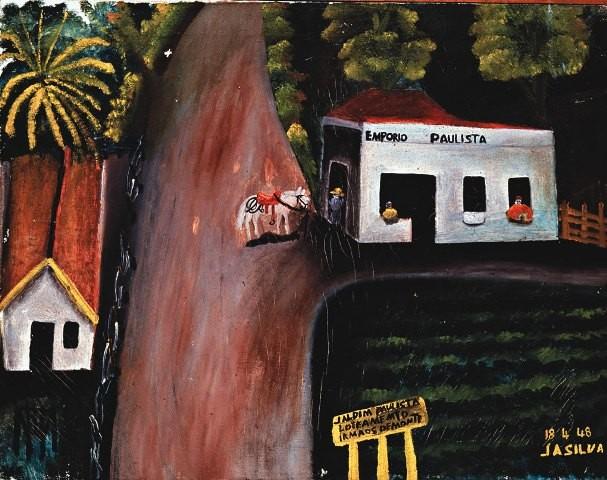 Jardim Paulista, de José Antonio da Silva, está na mostra O Retorno da Coleção Tamagni