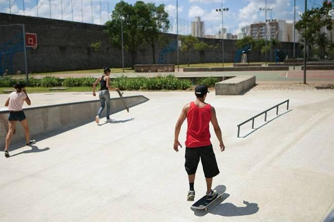 Parque da Juventude - pista de skate