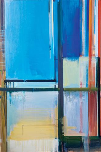 Esta pintura do venezuelano Juan Iribarren é uma das 2.900 obras da 30ª Bienal de São Paulo