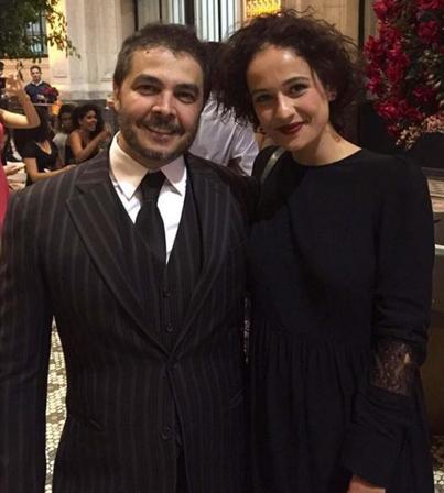Julio Crepaldi ao lado da filha, Rafaela (Foto: Reprodução/Instagram)