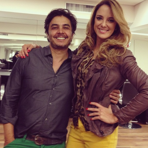 Julio Crepaldi e Ticiane Pinheiro - Instagram