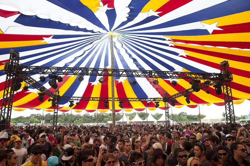 Kaballah Circus Fastival: 45 apresentações em 4 palcos durante 20 horas de música