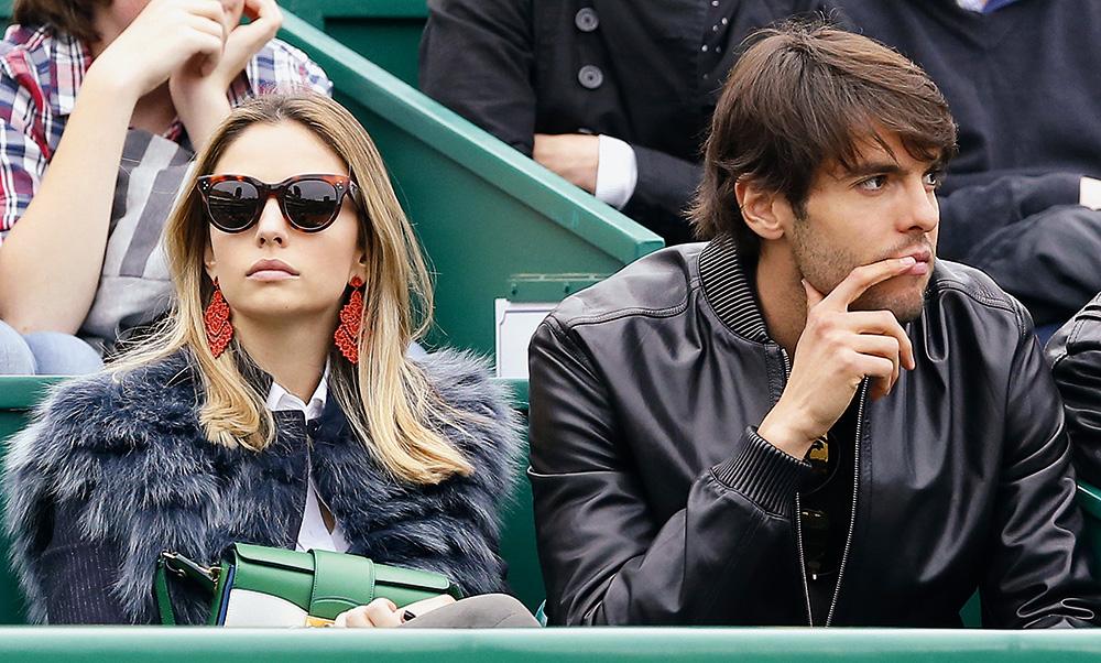 O ex-casal Carol e Kaká: ela quer a divisão do patrimônio