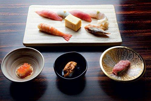 Kan: seleção de sushis (Foto: Lucas Lima)