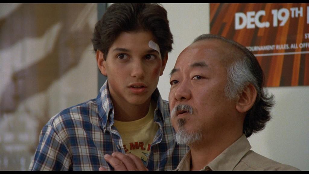 Ralph Macchio e Pat Morita: e dá-lhe Karate Kid