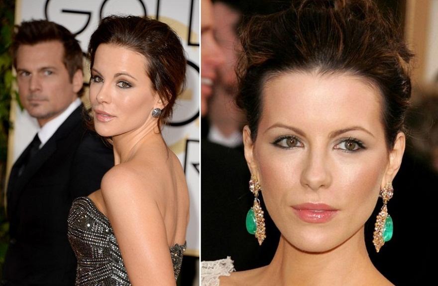 Kate Beckinsale - Antes e Depois