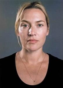 Kate Winslet, a atriz de 'Titanic', hoje com 38 anos