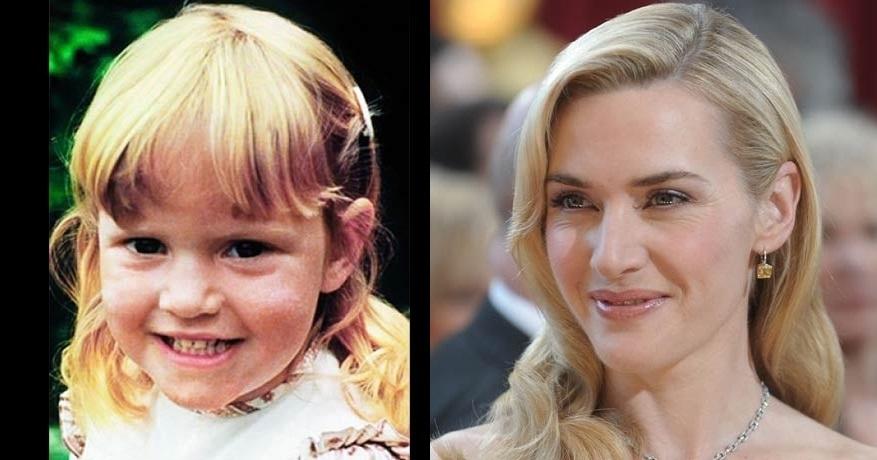 Kate Winslet, a Rose de Titanic, tinha um sorriso lindinho, não?