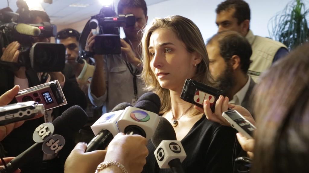 O caso de Katiele Fischer chega à mídia
