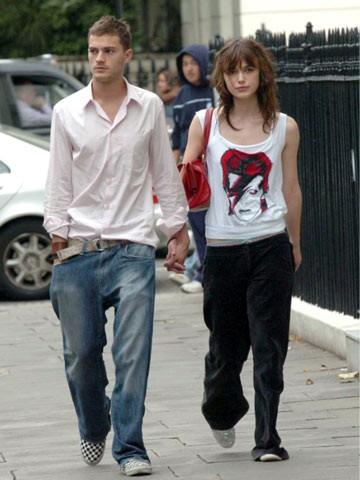 Entre 2003 e 2005, Jamie namorou a atriz Keira Knightley