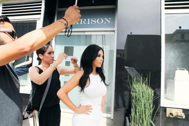 Kim, a rainha do Instagram: apenas 36 horas em São Paulo (Foto: Arhur Aperry Cezar)