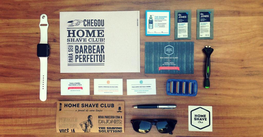 Kit do clube de assinaturas Home Save