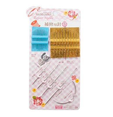 Kit com 27 agulhas: R$ 7,99