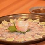 Ussuzukuri de peixe branco