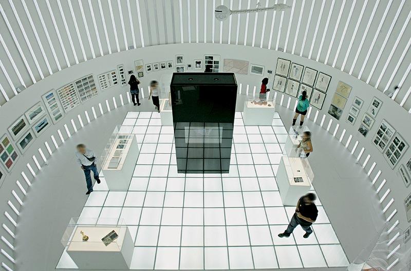 Sala do filme 2001: uma Odisseia no Espaço