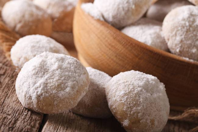 Kurabie - Biscoitos amanteigados