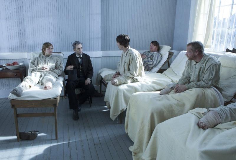 """""""Lincoln: a crueldade da guerra nos feridos na batalha"""