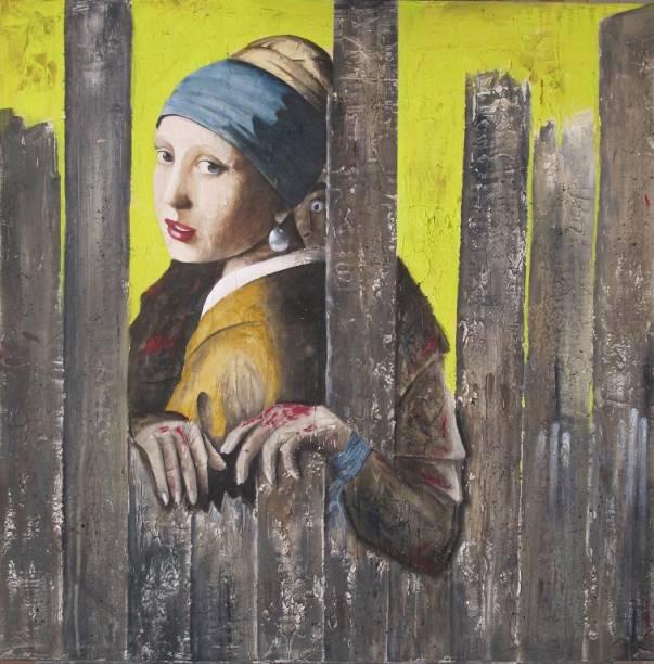 """La jeune fille à la perle"" - ""A moça do brinco de pérola"", de Vermeer"