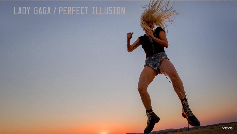 Lady Gaga: Perfect Illusion já nas paradas (Foto: Reprodução)