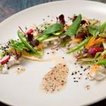 Salada com vinagrete de mel e pimenta-calabresa