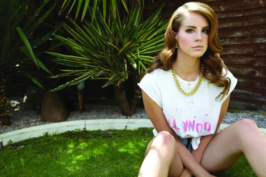 A americana Lana Del Rey: cantora vem à cidade pela primeira vez e toca no Palco Terra às 19h30