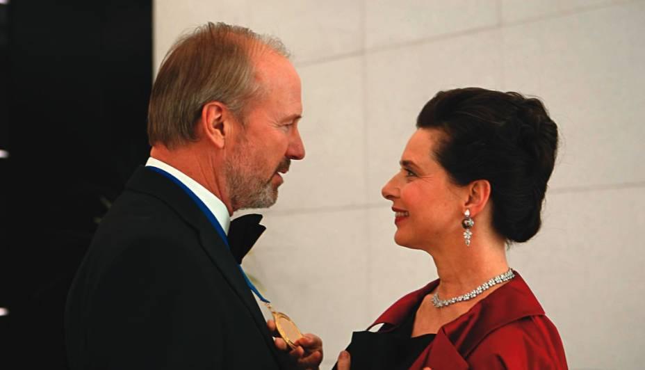 William Hurt e Isabella Rossellini em Late Bloomers: O Amor Não Tem Fim: o casamento depois que os filhos crescem