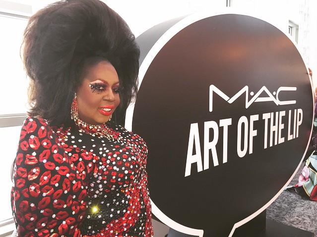 Presença confirmada para a inauguração: Latrice Royale, do reality show americano RuPaul's Drag Race (Foto: Reprodução/Instagram)
