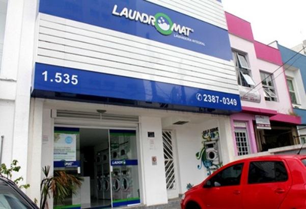 Laundromat Lavanderia, unidade localizada na Mooca