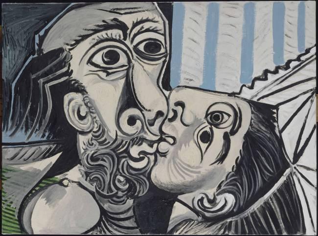 Le Baiser_Mougins_1969_Musée national Picasso-Paris_Dation Pablo Picasso