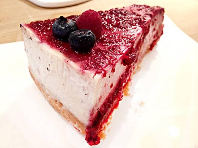 Le Pain Quotidien - cheesecake