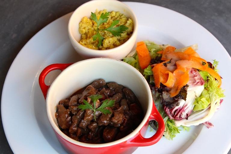 Picadinho de carne: uma das sugestões incluídas no menu (Foto: divulgação)