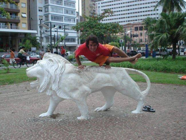 Leão Branco Santos