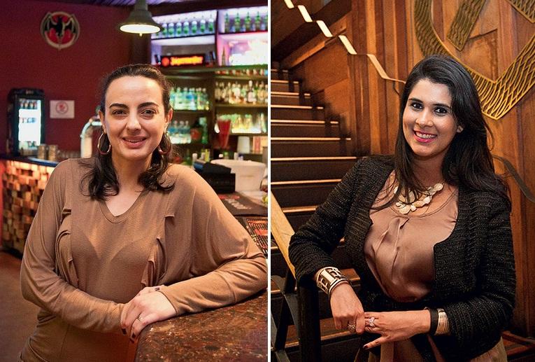 Isabete e Natália: usuárias assíduas da rede social, elas participaram pela segunda vez do encontro