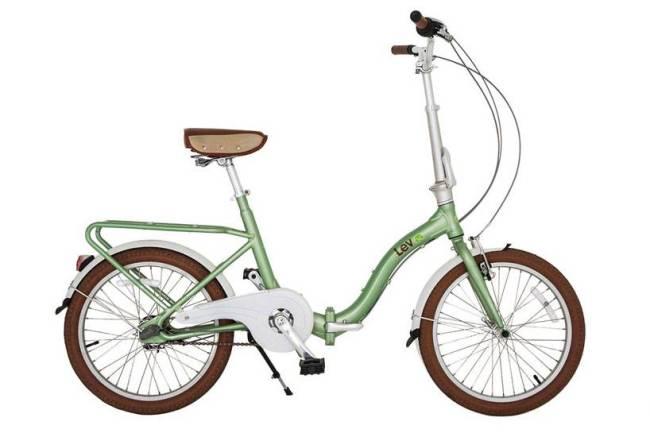 Bike Convencional Dobrável Aro 20 verde