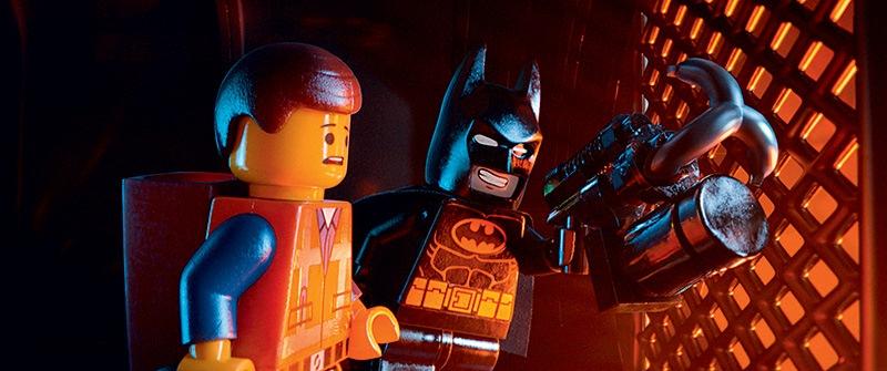 Uma Aventura Lego: o operário Emmet e o herói Batman, aliados para salvar o mundo