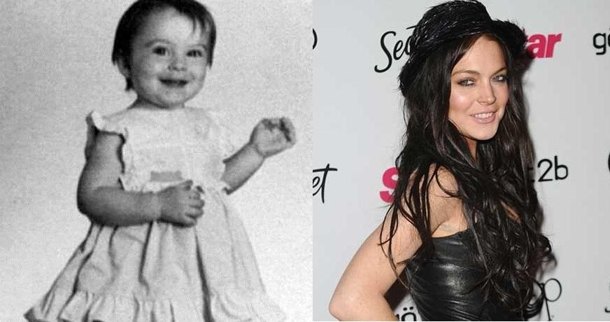 Lindsay Lohan tinha cara de anjinho, mas se transformou numa encrenqueira de marca maior
