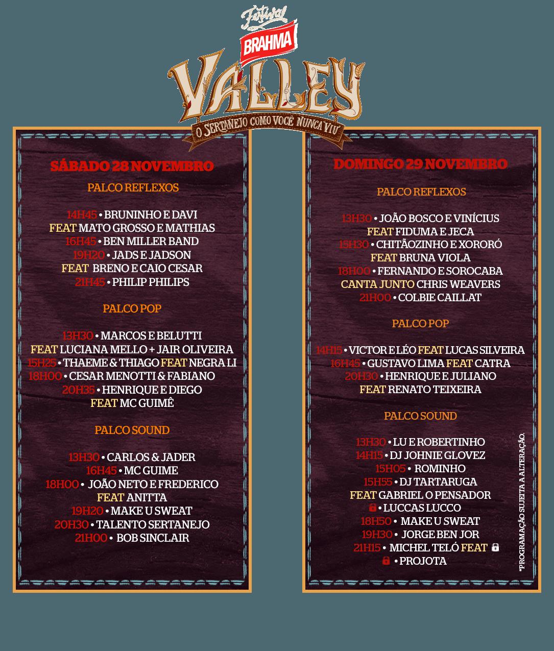 line-up-brahma-valley