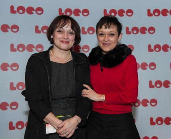 Lisa e Louise, em janeiro de 2014, em Londres