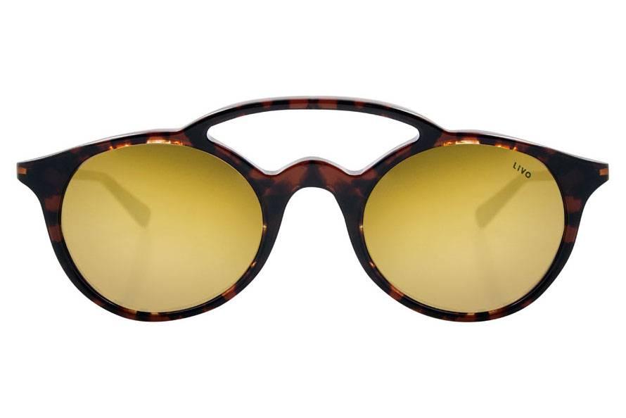 Óculos de sol unissex de acetato italiano