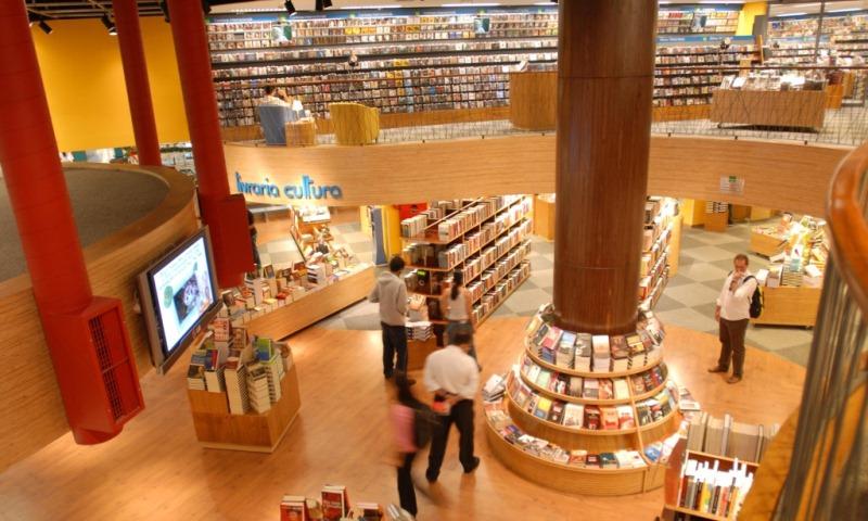 Livraria Cultura, no Shopping Market Place