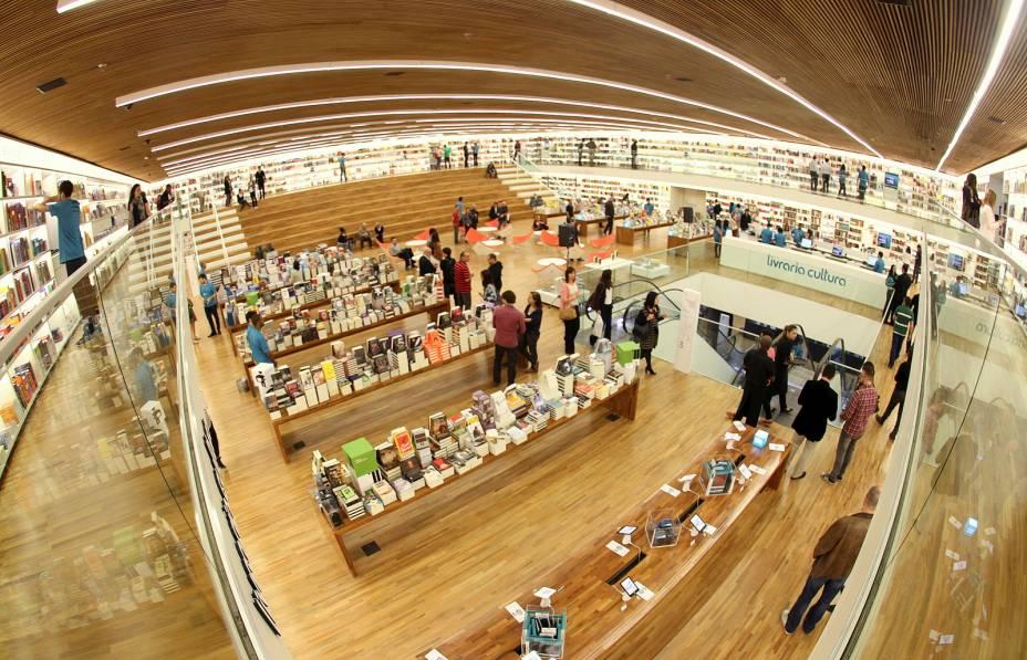 Filial da Livraria Cultura no Shopping Iguatemi