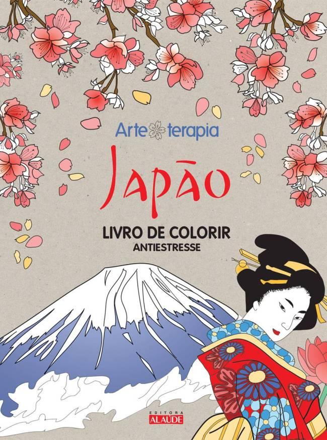 livro colorir - Japão - Editora Alaúde
