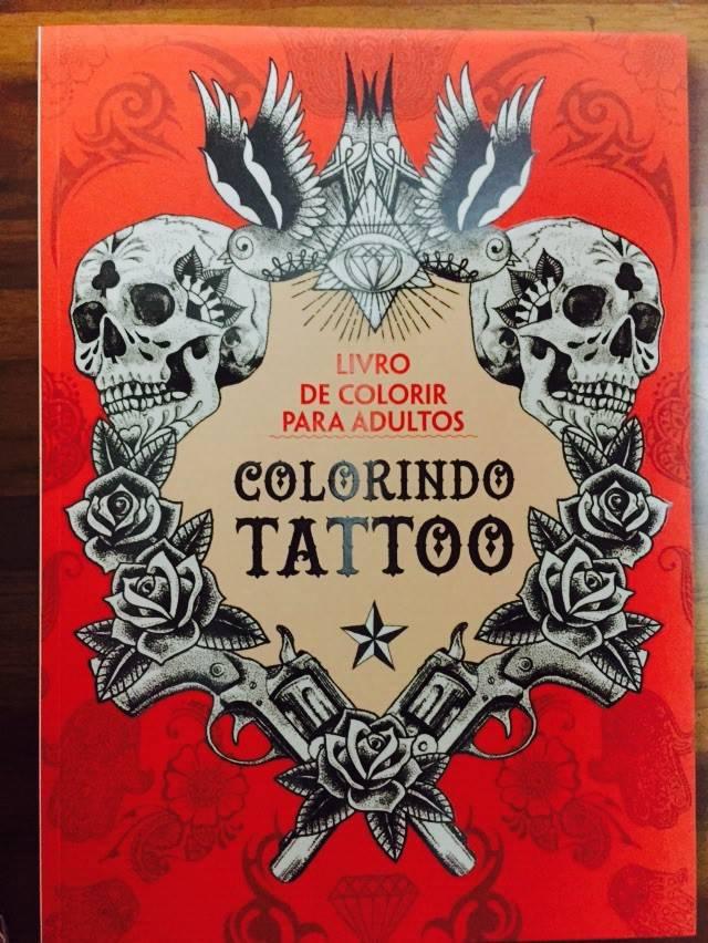Livro  - colorir Tatuagem